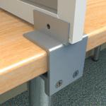 desk mount panel