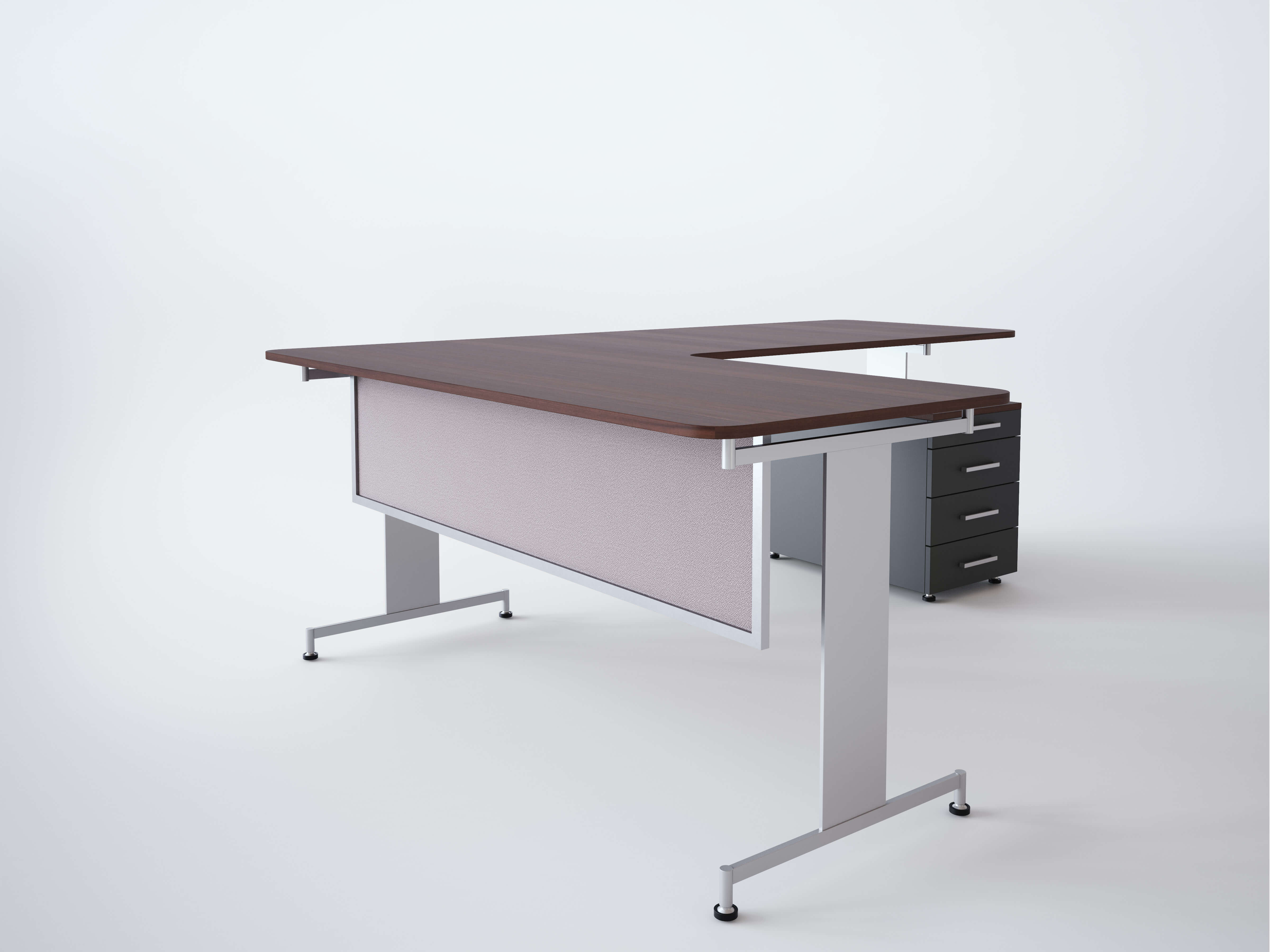 Desk Amp Table Mounted Modesty Panels Obex Panel Extenders