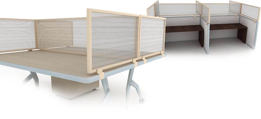 Tan Translucent Poly Obex Panel Extenders