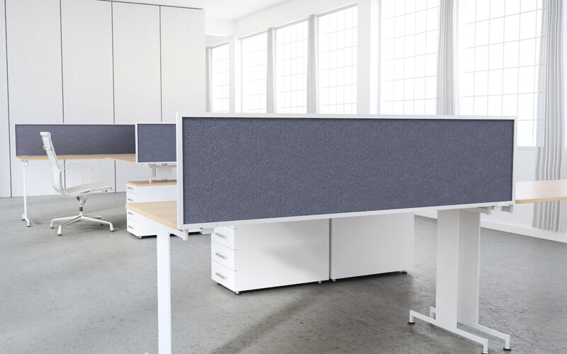 Desk Amp Table Mount Privacy Panels Obex Panel Extenders
