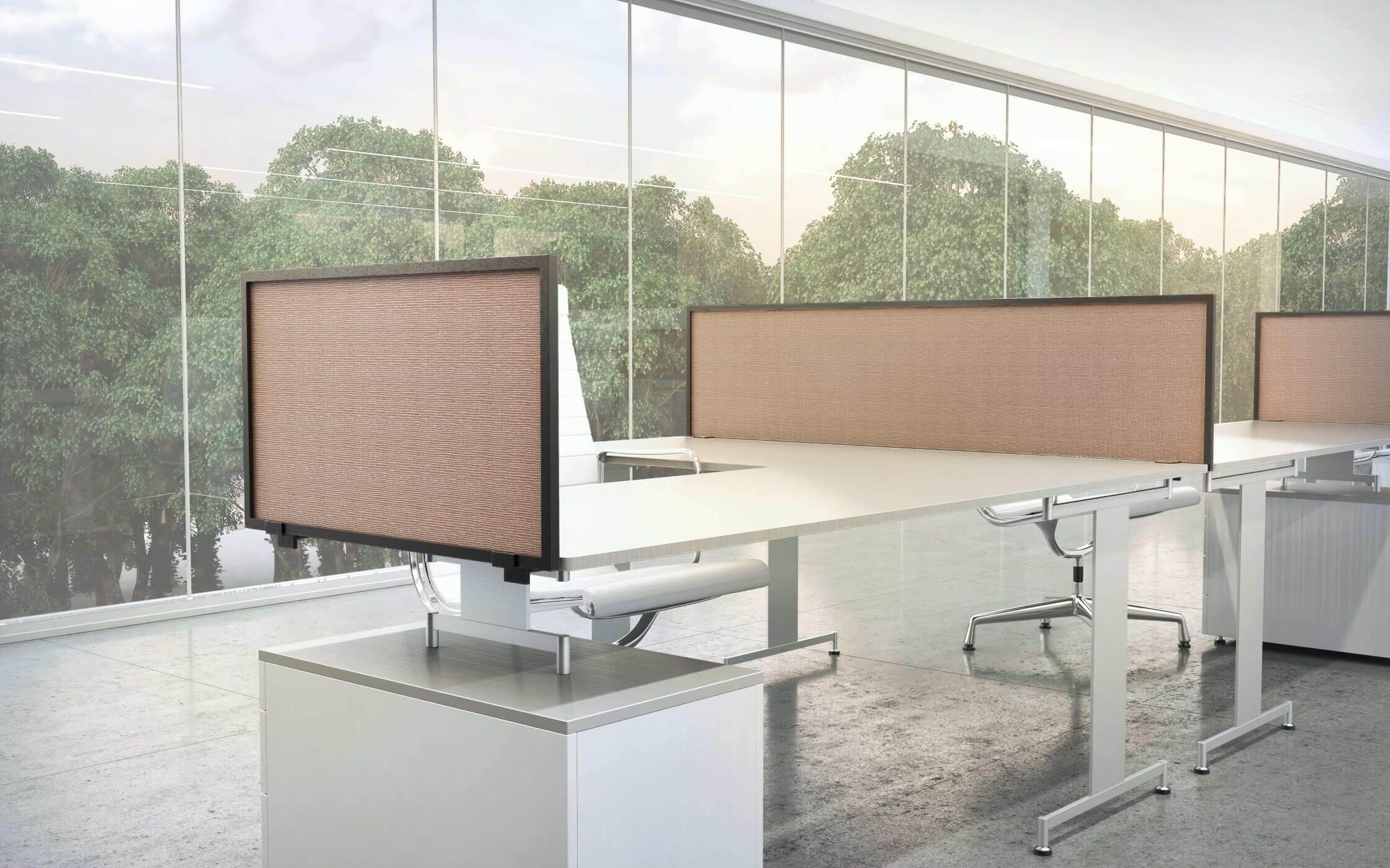 desk  u0026 table mount privacy panels